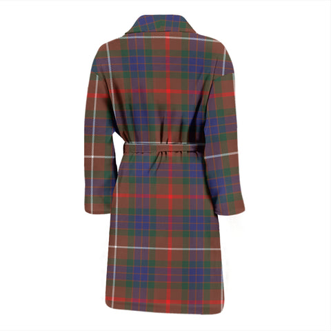 Fraser Hunting Modern Bathrobe - Men Tartan Plaid Bathrobe Universal Fit