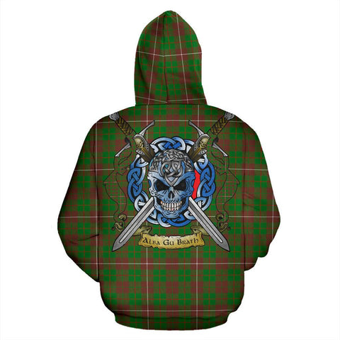 MacKinnon Hunting Modern Tartan Hoodie Celtic Scottish Warrior A79 | Over 500 Tartans | Clothing | Apaprel