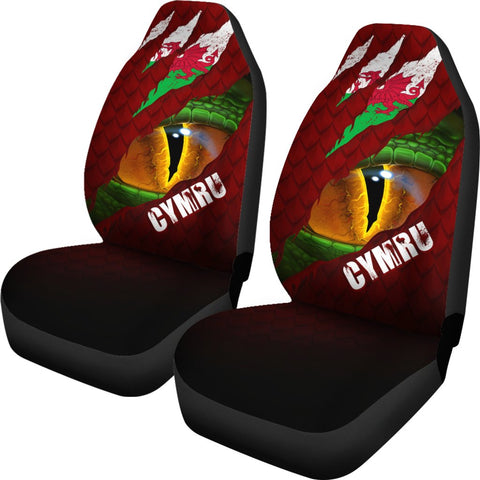 Welsh Car Seat Covers - Dragon Eyes | Love The World