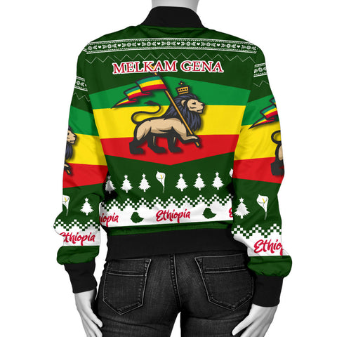 Image of Ethiopia Christmas Bomber Jacket K5