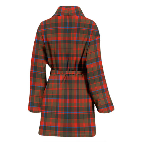 Cumming Hunting Weathered Bathrobe - Women Tartan Plaid Bathrobe Universal Fit
