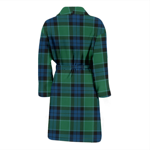 Graham Of Menteith Ancient Bathrobe - Men Tartan Plaid Bathrobe Universal Fit