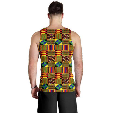 Image of African Men's Tank Top Pattern