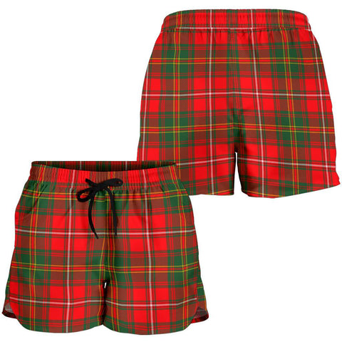 Image of Hay Modern Tartan Shorts For Women Th8