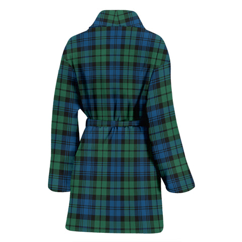 Image of Campbell Ancient 02 Bathrobe - Women Tartan Plaid Bathrobe Universal Fit