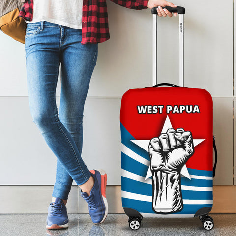 Free West Papua Luggage Covers