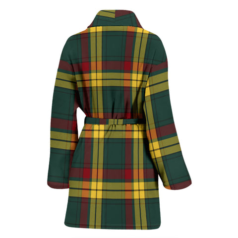 Image of Macmillan Old Modern Tartan Women's Bathrobe - Bn03