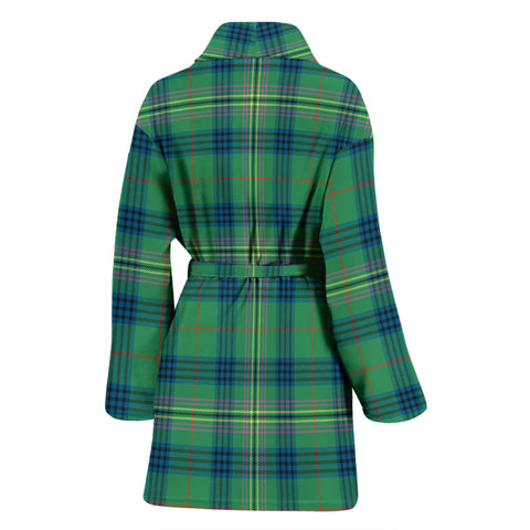 Image of Kennedy Ancient Bathrobe - Women Tartan Plaid Bathrobe Universal Fit