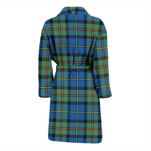 Image of Macleod Of Harris Ancient Tartan Men's Bathrobe - Bn04