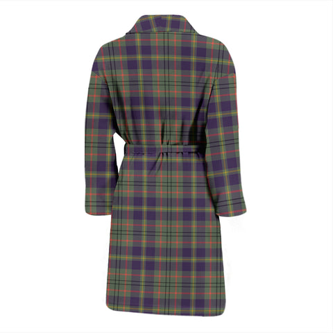 Taylor Weathered Tartan Men's Bath Robe - BN04