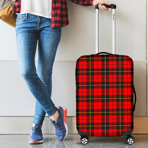 Wallace Hunting - Red Tartan Luggage Cover Hj4 | Love The World