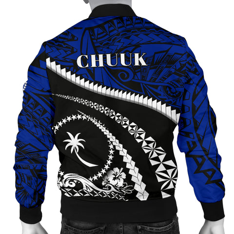 Image of Chuuk Men Bomber Jacket - Road to Hometown K4