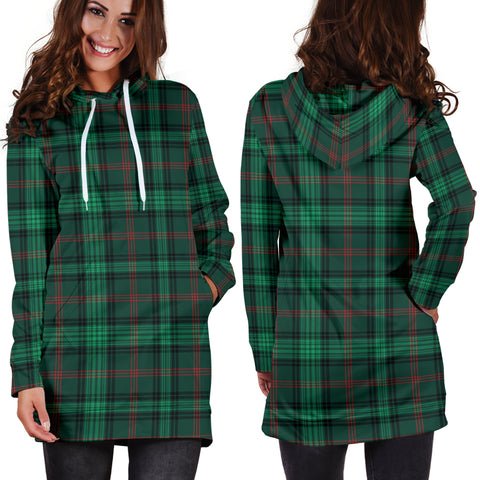 Ross Hunting Modern Tartan Hoodie Dress HJ4 |Women's Clothing| 1sttheworld