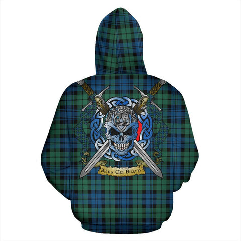 Image of Campbell Ancient 02 Tartan Hoodie Celtic Scottish Warrior A79 | Over 500 Tartans | Clothing | Apaprel