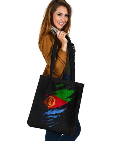 Eritrea in Me Tote Bag - Special Grunge Style A7
