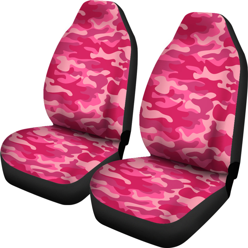 Pink Camo Car Seat Cover