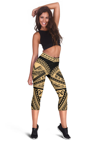 Image of Polynesian Rising Capris | Women Pants