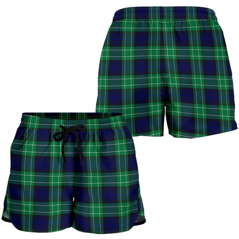 Image of Abercrombie Tartan Shorts For Women TH8