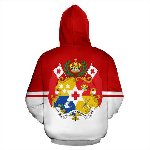 Tonga Hoodie by 1sttheworld for Men and Women