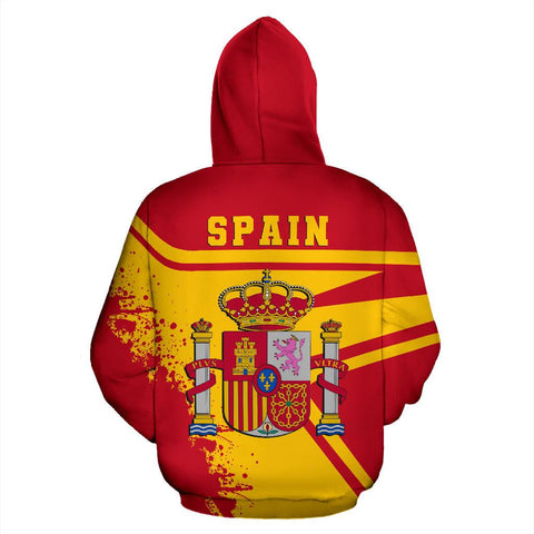 Spain Hoodie Painting Style Th52