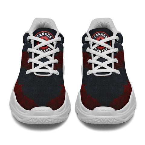 Canada Chunky Sneakers - Grunge Style