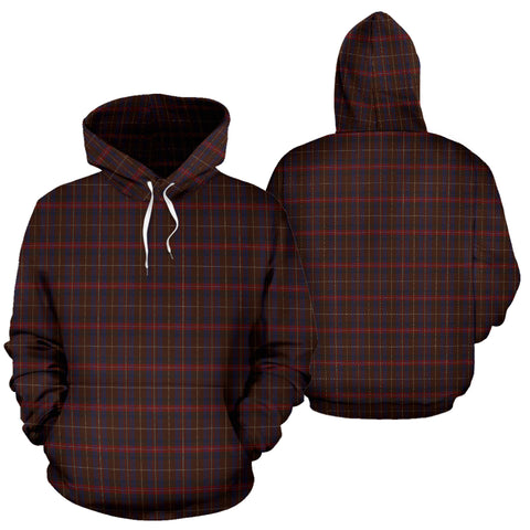 Griffith of Wales Tartan Hoodie A8