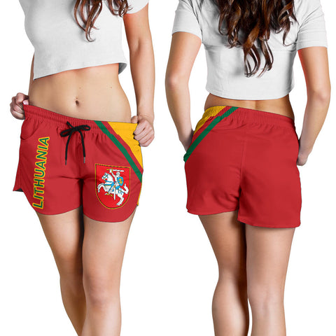 Image of Lithuania Women's Shorts - Curve Version