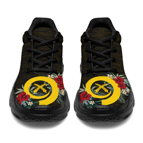 Image of Vanuatu 2 Hibiscus (Men/Women) Chunky Sneakers A7
