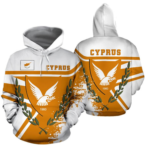 Image of Cyprus Hoodie Painting Style Th52