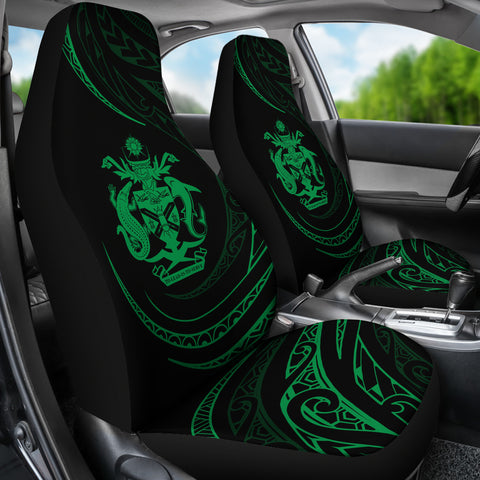 Solomon Car Seat Covers - Green - Frida Style - J96