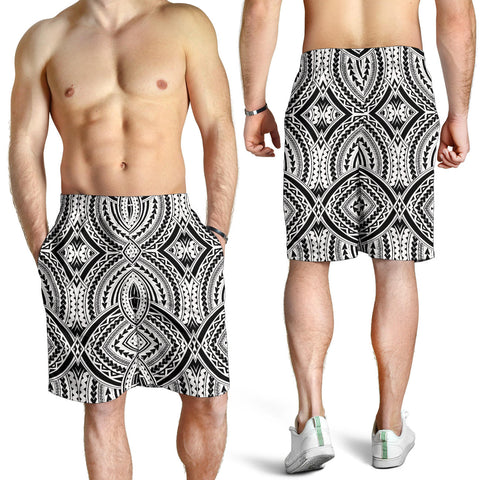 Polynesian All Over Print Men's Shorts 2
