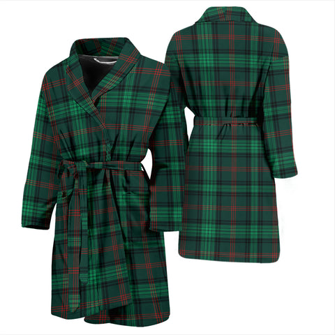 Ross Hunting Modern Tartan Men's Bath Robe - BN04