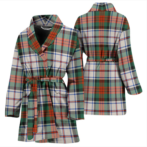 Image of Macduff Dress Ancient Bathrobe - Women Tartan Plaid Bathrobe Universal Fit