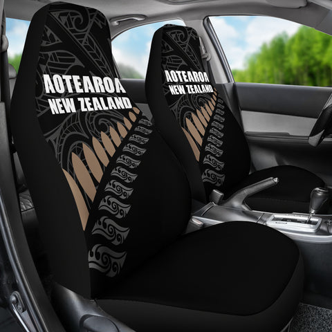 Image of New Zealand Aotearoa Special Seat Covers (Set of 2) | Love The World