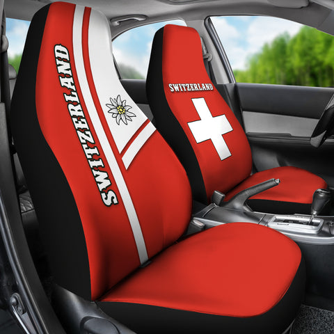 Image of Switzerland Car Seat Covers Streetwear Style