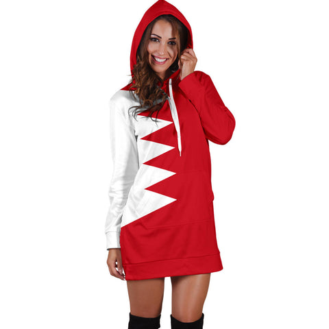 Bahrain Hoodie Dress Original Flag A7