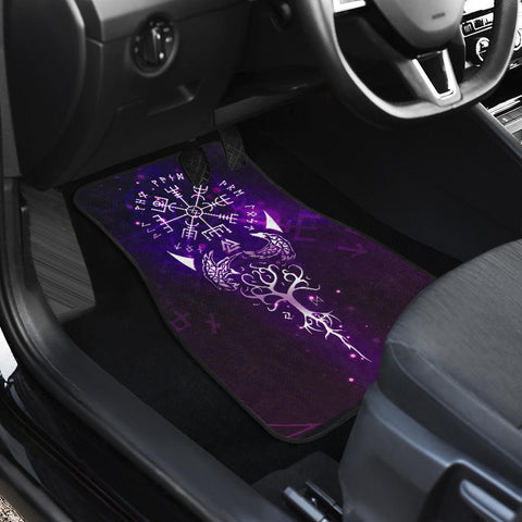 Image of Viking Compass Front Car Mats (Set Of 2) | Love The World
