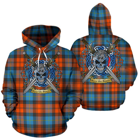 MacLachlan Ancient Tartan Hoodie Celtic Scottish Warrior A79 | Over 500 Tartans | Clothing | Apaprel