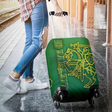 Lithuania Vytis Columns of Gediminas Luggage Covers K8