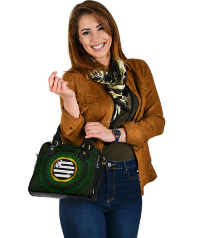 Celtic Shoulder Handbag - Brittany Celtic Flag