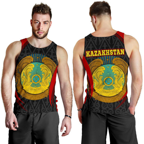 Kazakhstan Men's Tank Top - Kazakhstan Spirit
