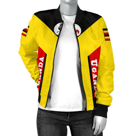 Uganda Bomber Jacket - Rising (Women) A02