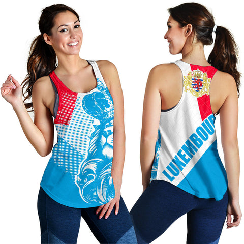Lion Luxembourg Racerback Tank Bn10