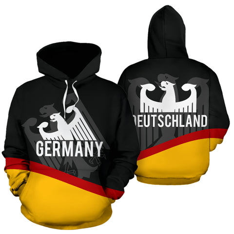 Image of Germany Flag Wave Hoodie