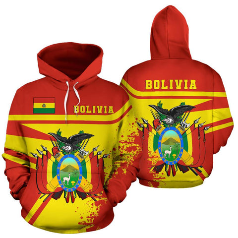 Image of bolivia1 Hoodie Painting Style Th52