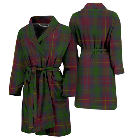 Cairns Bathrobe - Men Tartan Plaid Bathrobe Universal Fit