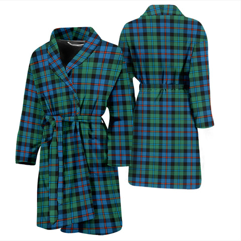Campbell Of Cawdor Ancient Tartan Men's Bathrobe - Bn04