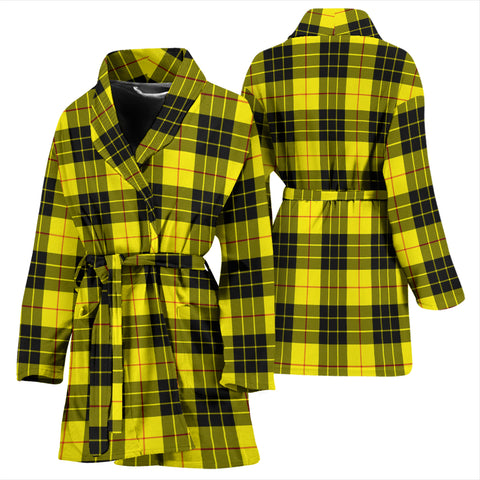 Macleod Of Lewis Modern Tartan Women's Bathrobe - Bn03