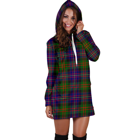 Cameron Of Erracht Modern Tartan Hoodie Dress HJ4 |Women's Clothing| 1sttheworld