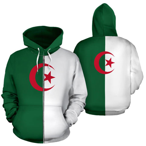 Algeria Zipper Original Flag A7